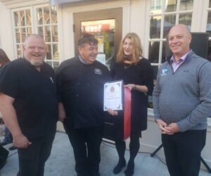 Export Grill has received the certificate for opening
